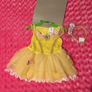 NWT Baby Belle Disney Costume 12-18 Months
